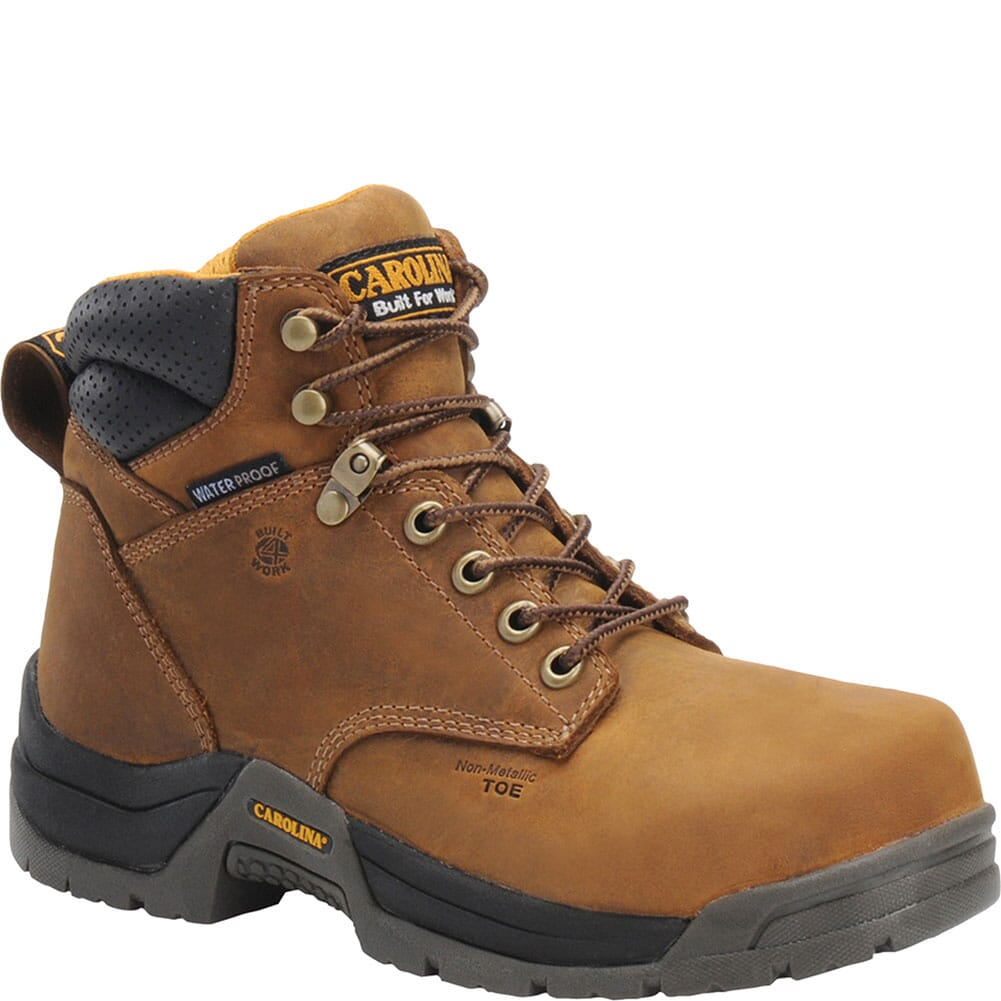 Image for Carolina Women's EH Safety CT Boots - Brown from bootbay