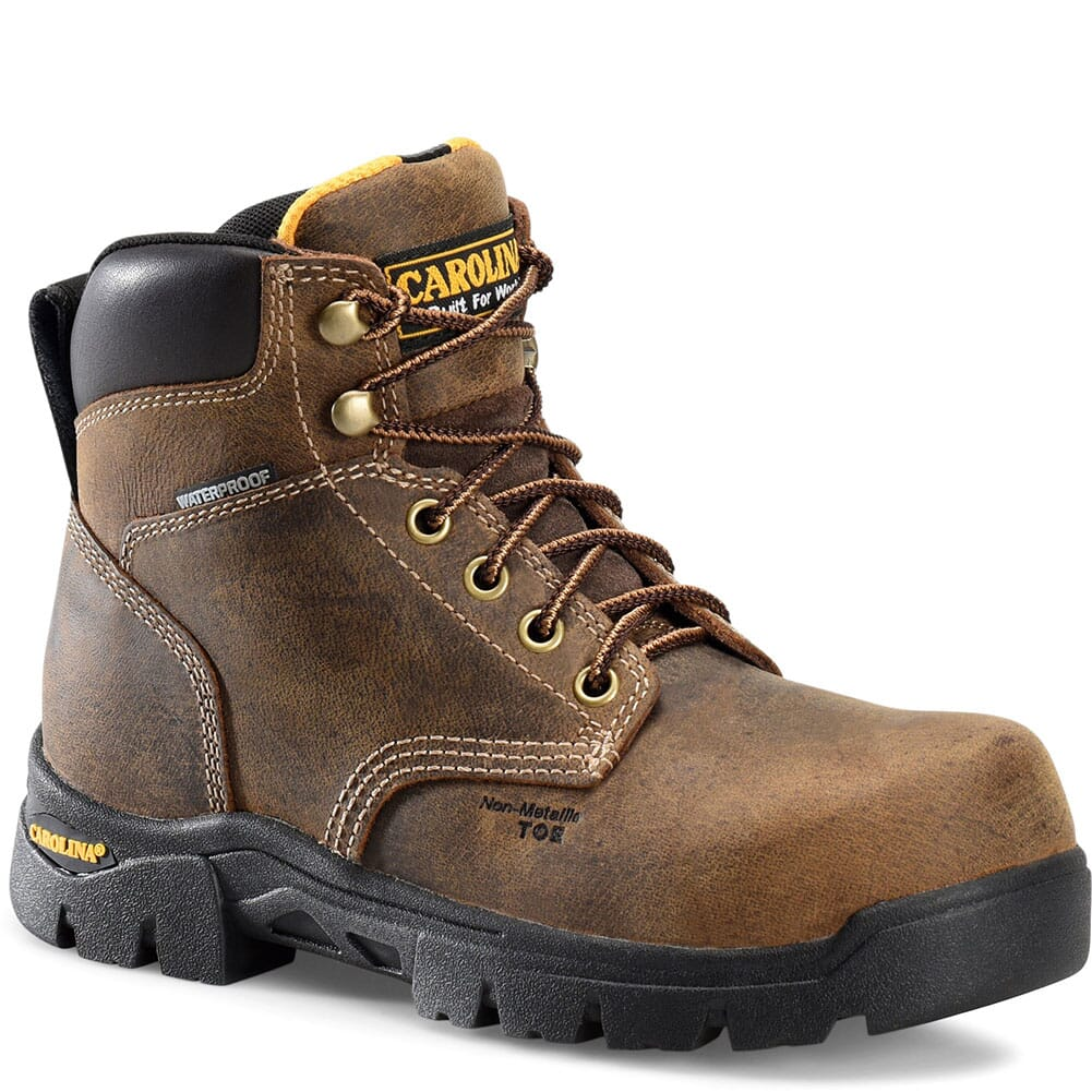 Image for Carolina Women's Circuit Safety Boots - Brown from elliottsboots