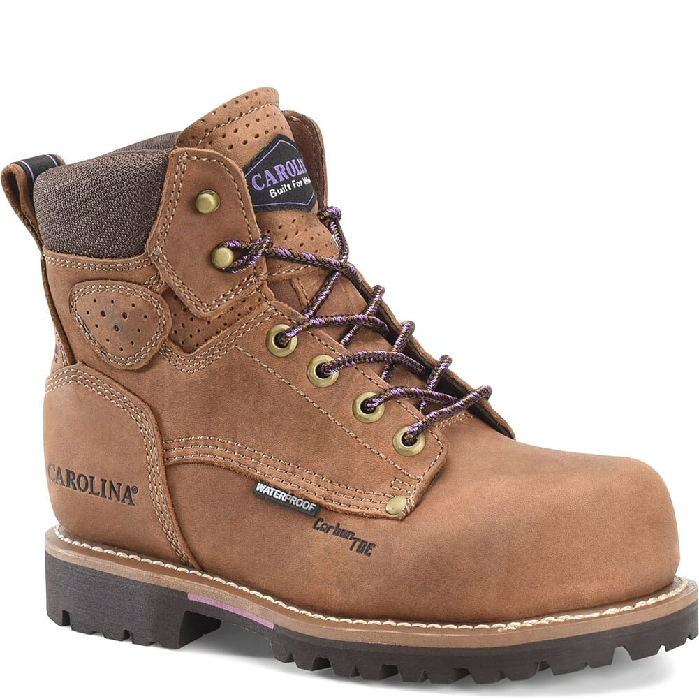 Image for Carolina Women's Parthenon Safety Boots - Brown from elliottsboots