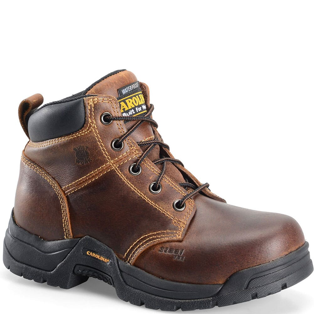 Image for Carolina Women's Reagan Safety Boots - Borris Tan from elliottsboots