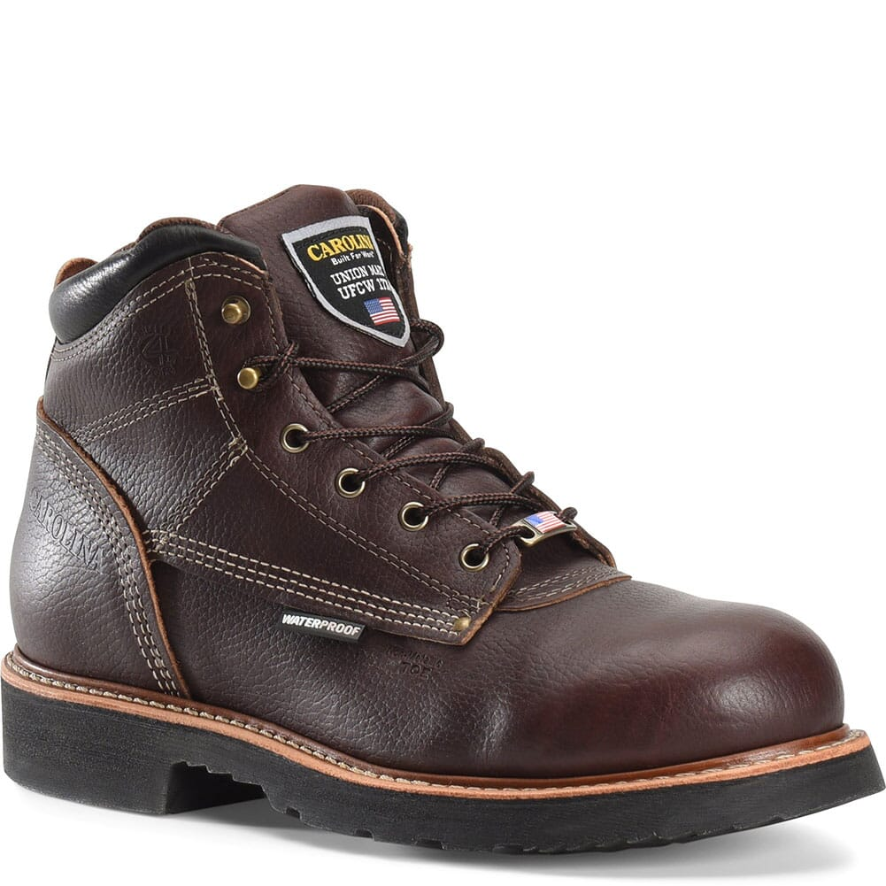 Image for Carolina Men's Sarge Lo Safety Boots - Briar from bootbay