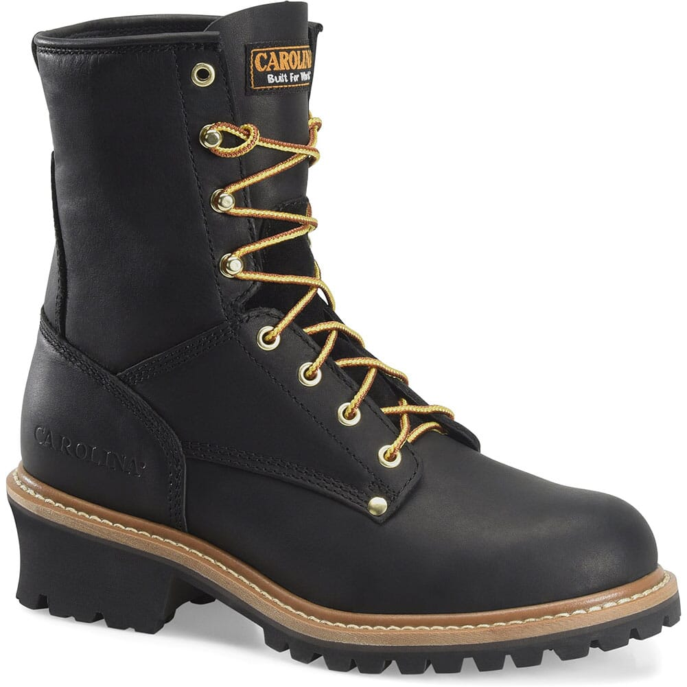 Image for Carolina Men's EH Safety Loggers - Black from bootbay