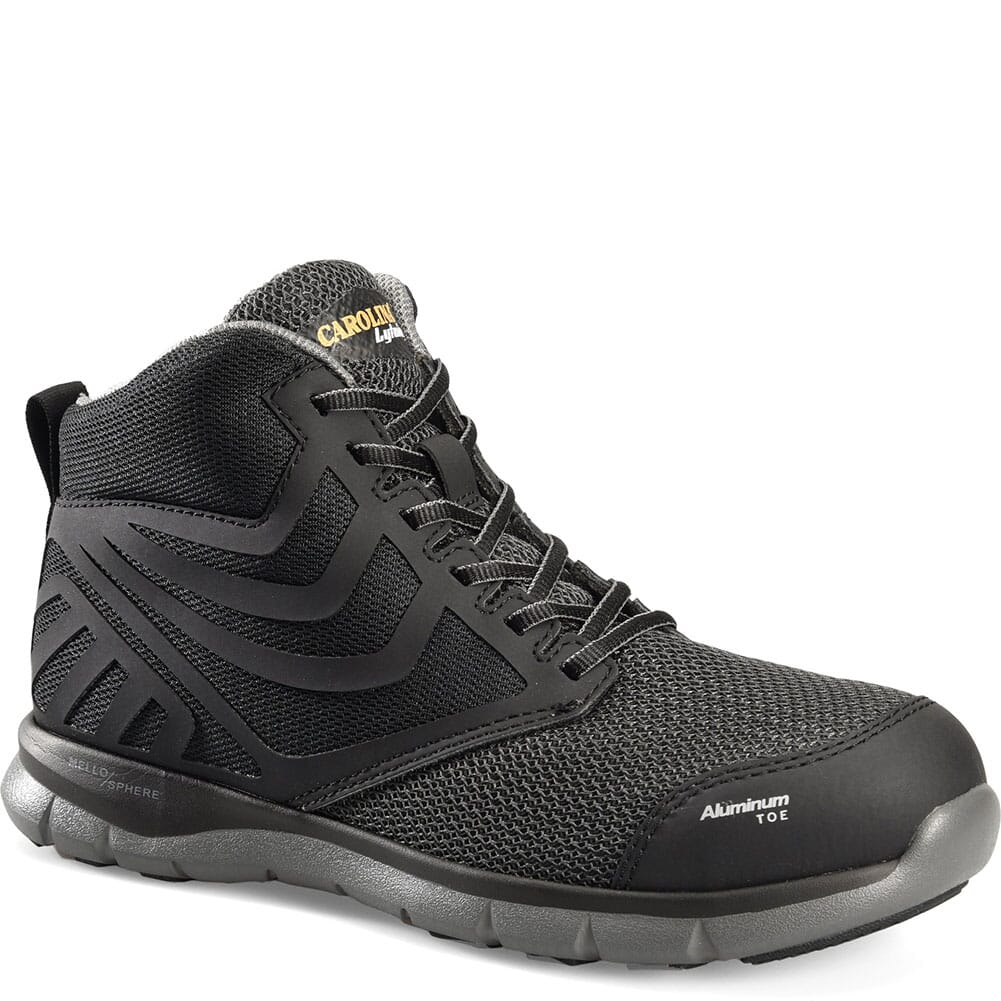 Image for Carolina Men's Gust Mid Safety Shoes - Black from bootbay