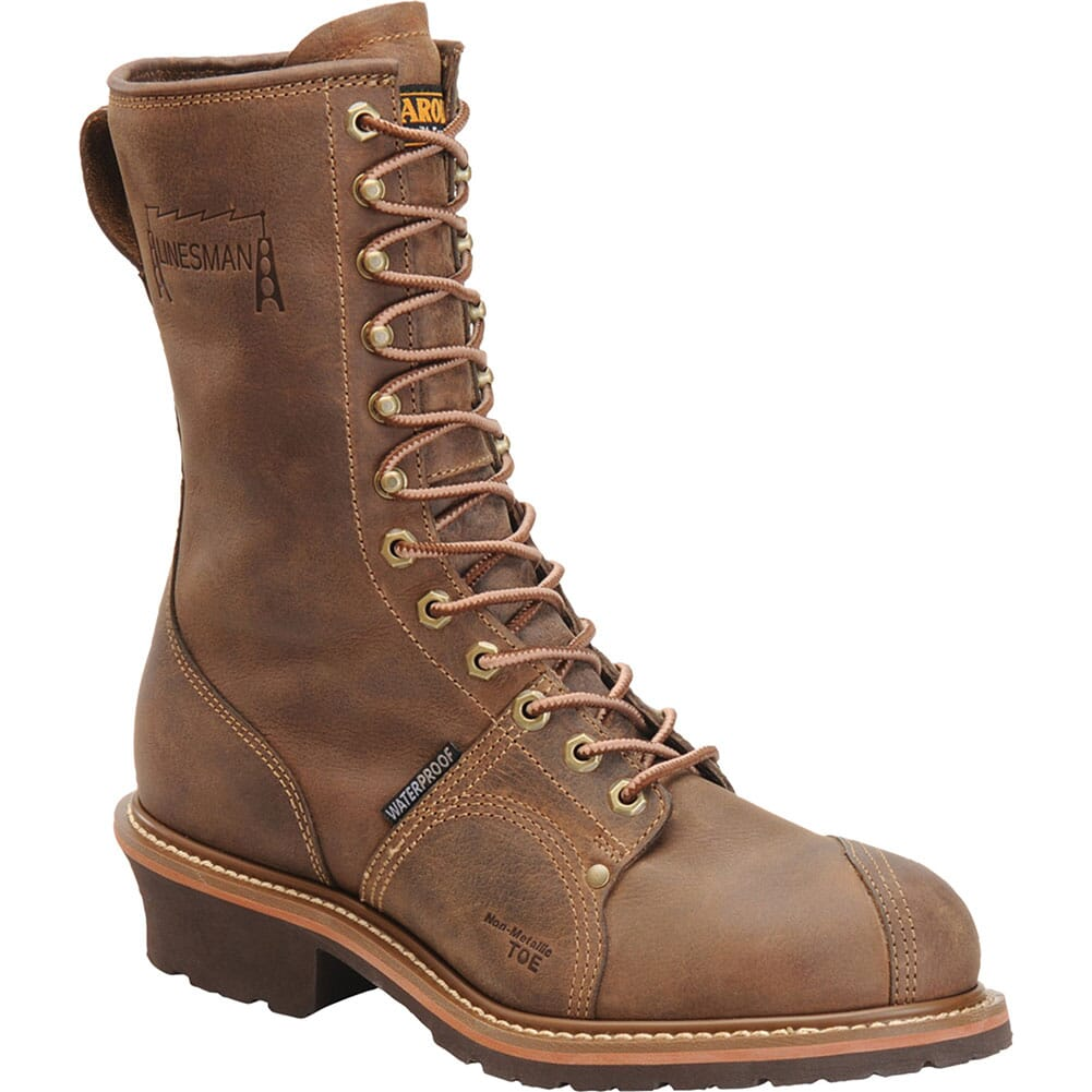 Image for Carolina Men's Linesman Safety Boots - Brown from bootbay