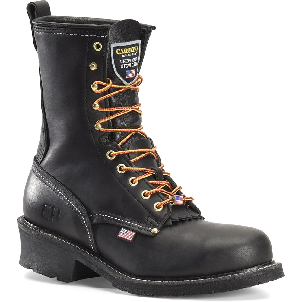 Image for Carolina Men's Maple Safety Loggers - Black from bootbay