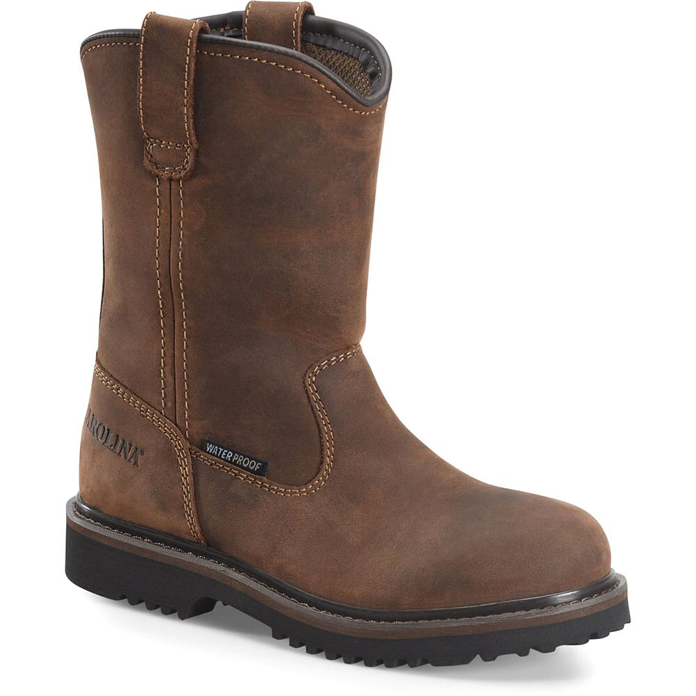 Image for Carolina Youth Well X Jr Wellington Boots - Mohawk Brown from bootbay