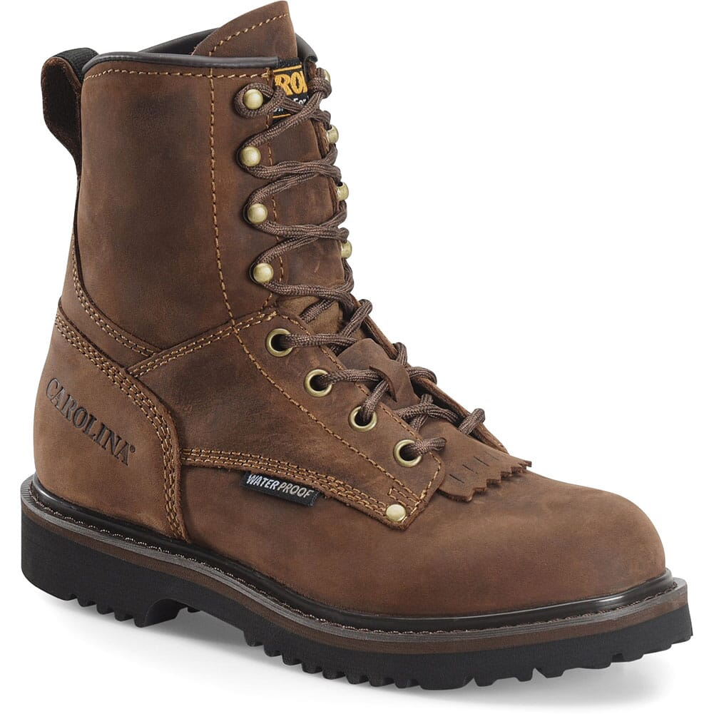 Image for Carolina Kid's 28 Series Jr Western Boots - Mohawk Brown from bootbay