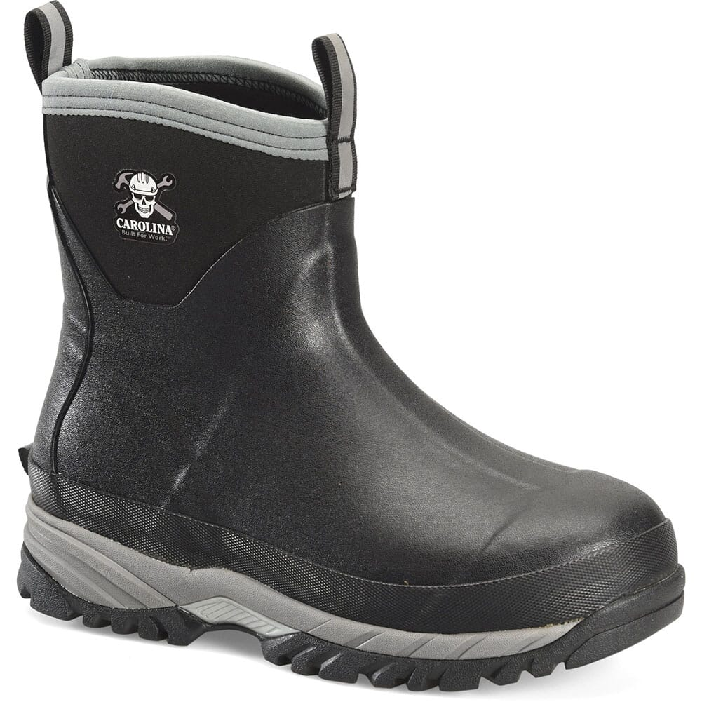 Image for Carolina Men's Mud Jumper EH Rubber Boots - Black from bootbay