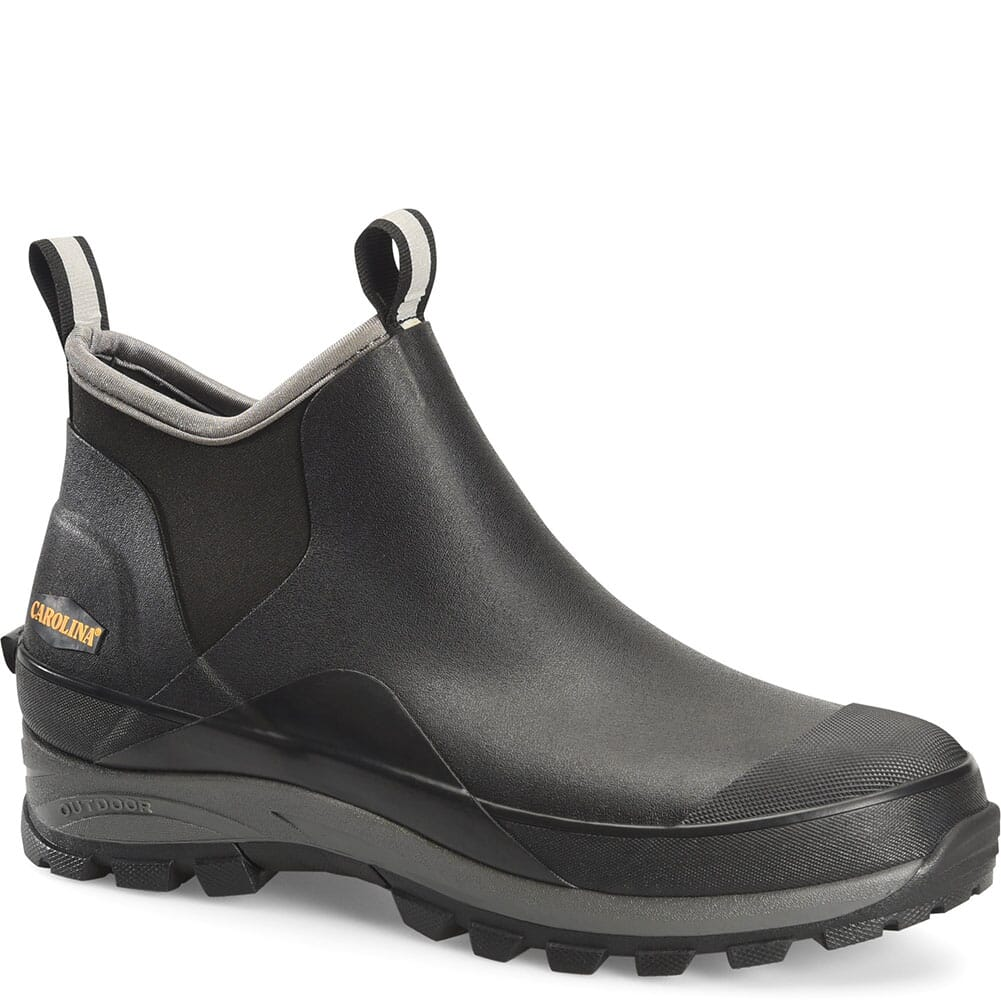 Image for Carolina Men's Mud Jumper EH Low Rubber Boots - Black from bootbay