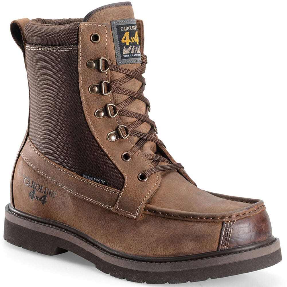 Image for Carolina Men's Assembly Work Boots - Brown from bootbay