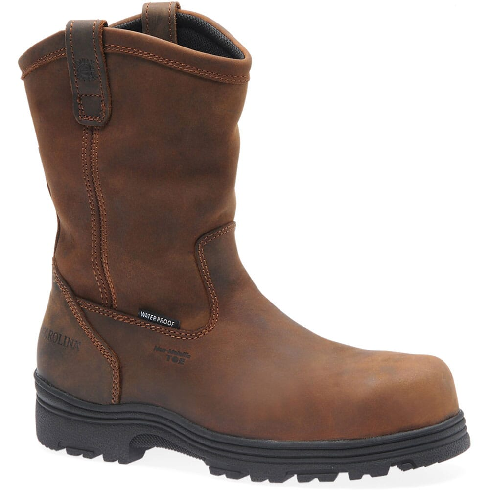 Image for Carolina Men's WP Comp Toe Safety Boots - Dark Brown from bootbay