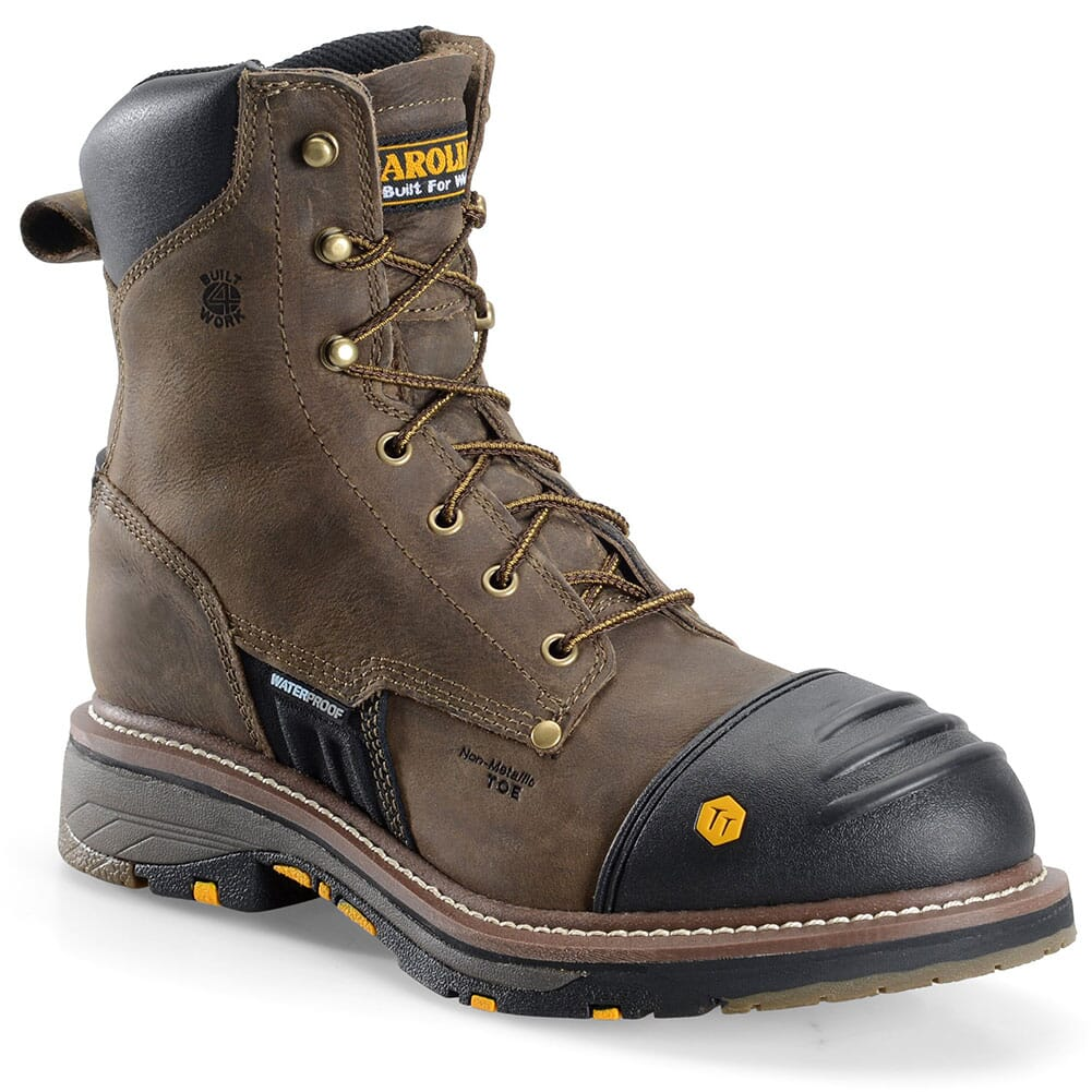 Image for Carolina Men's Production Workflex Work Boots - Brown from bootbay