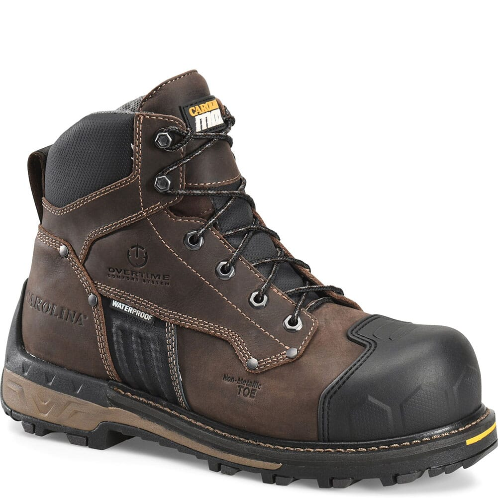 Image for Carolina Men's Maximus 2.0 Safety Loggers - Brown from bootbay
