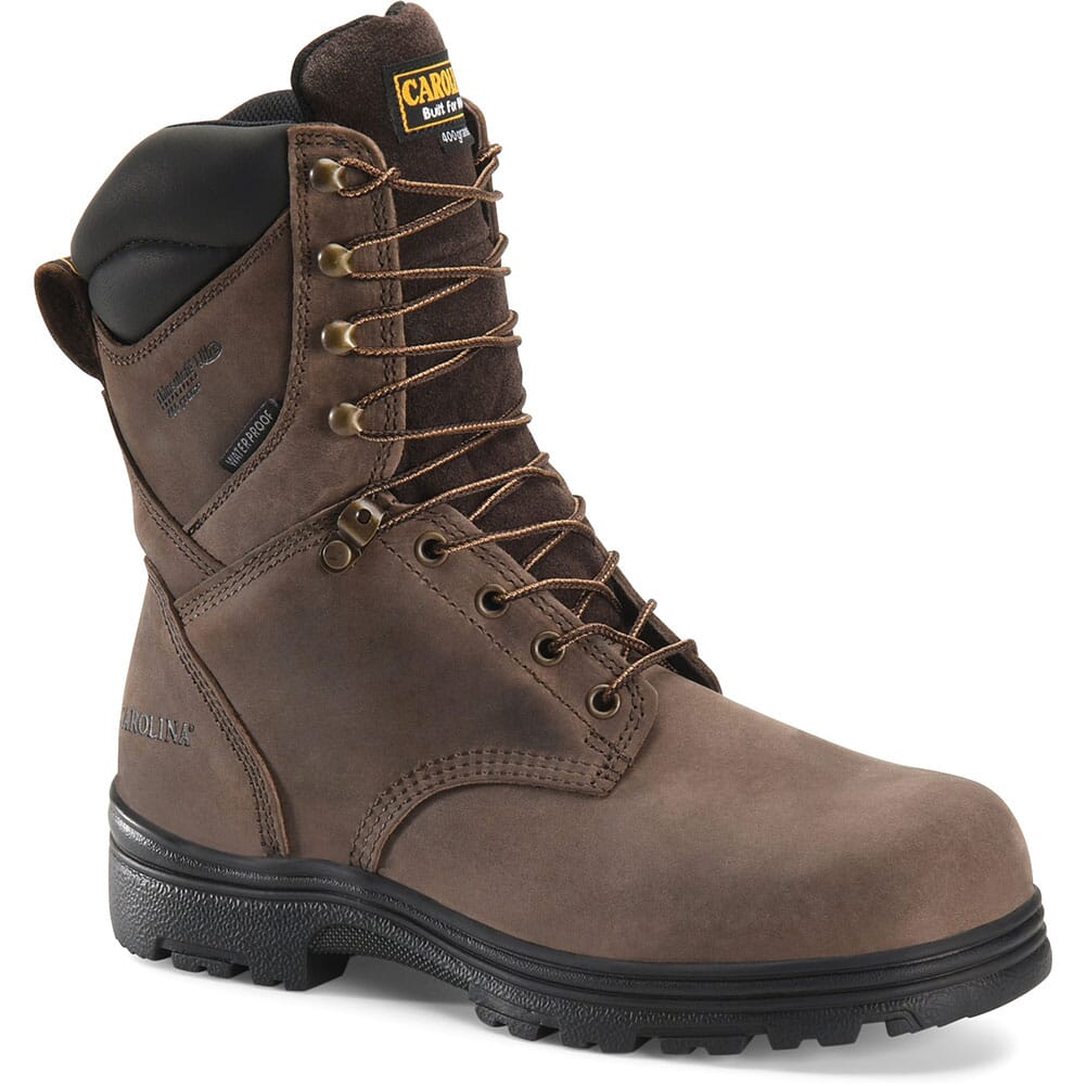 Image for Carolina Men's Waterproof INS Work Boots - Brown from bootbay