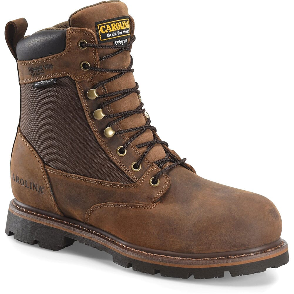 Image for Carolina Men's Installer Insulated Work Boots - Mohawk Brown from bootbay