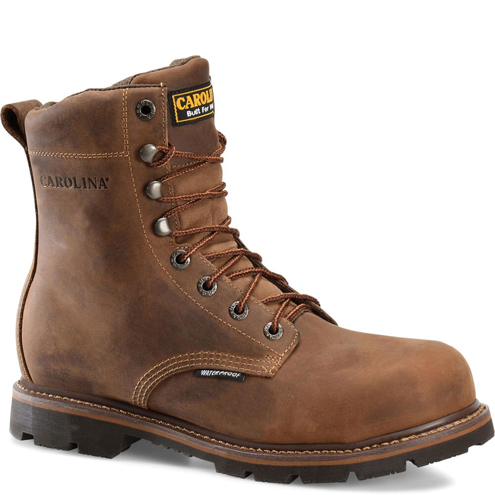 Image for Carolina Men's Installer Work Boots - Mohawk Brown from bootbay