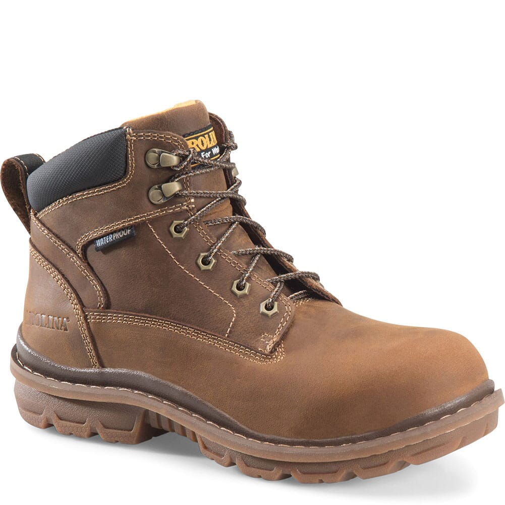 Image for Carolina Men's Dormite Work Boots - Brown from bootbay