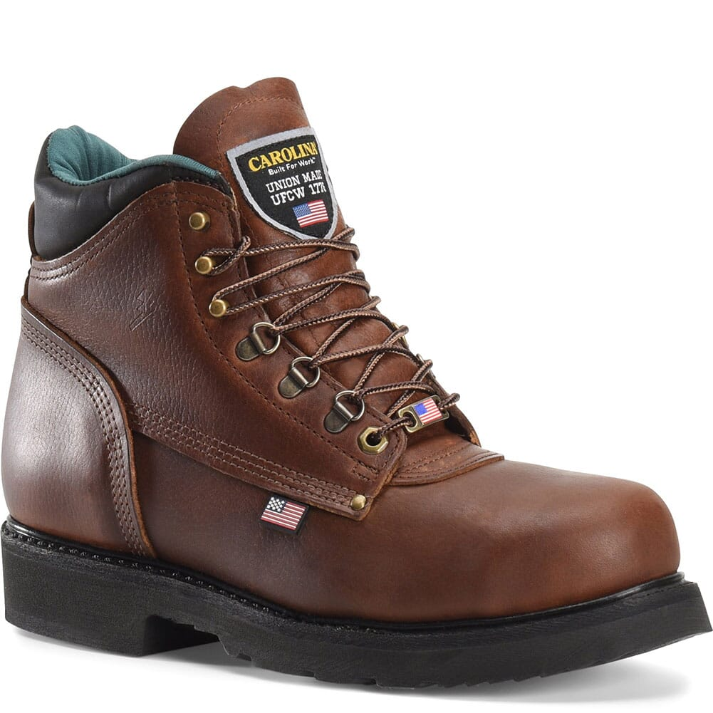 Image for Carolina Men's Sarge Lo Work Boots - Amber Gold from bootbay