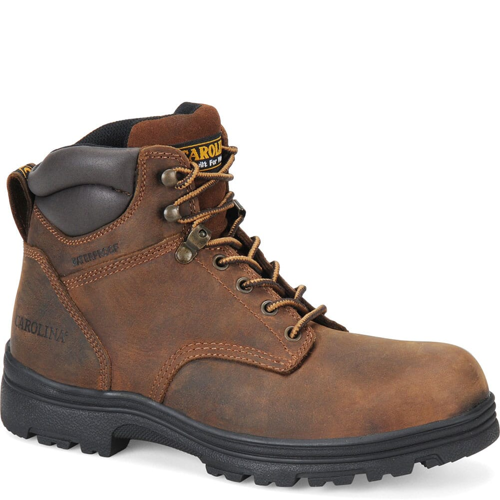 Image for Carolina Men's WP Safety ST Hikers - Brown from bootbay