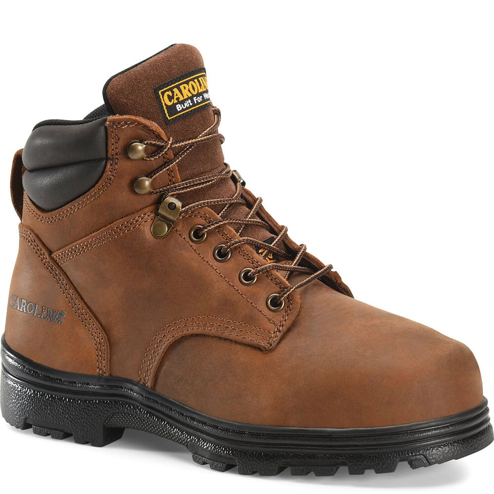 Image for Carolina Men's Waterproof EH Safety Boots - Brown from bootbay