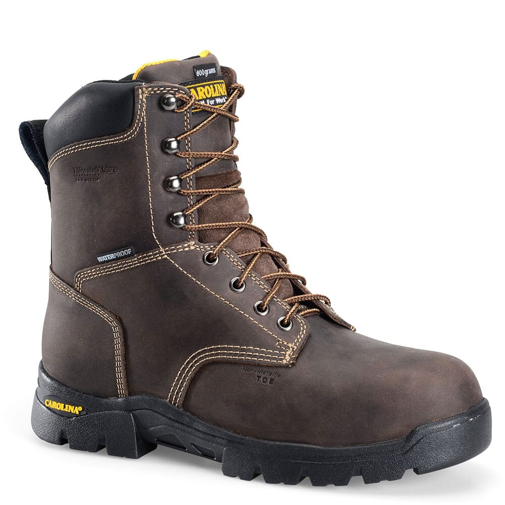 Image for Carolina Men's Circuit Hi Safety Boots - Brown from bootbay