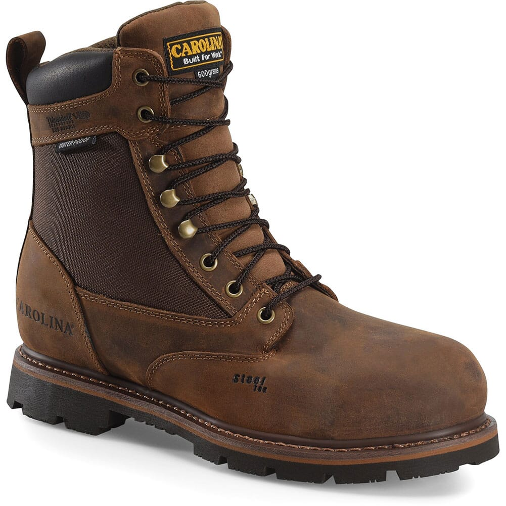Image for Carolina Men's Installer Insulated Safety Boots - Mohawk Brown from bootbay