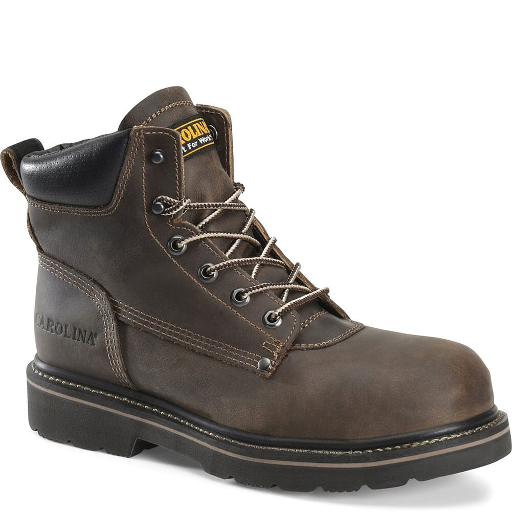 Image for Carolina Men's Shotcrete Safety Boots - Brown from bootbay