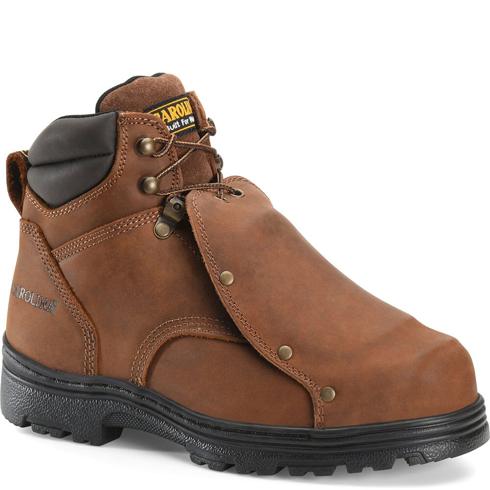 Image for Carolina Men's Met Guard Safety Boots - Brown from bootbay