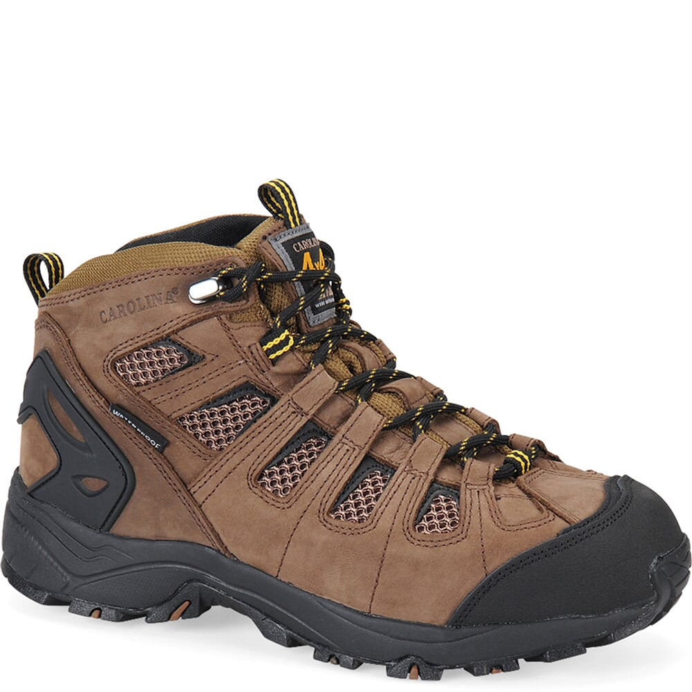 Image for Carolina Men's WP 4x4 Hiker Work Boots - Dark Brown from bootbay