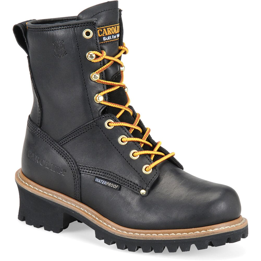 Image for Carolina Women's Elm WP Work Loggers - Black from bootbay