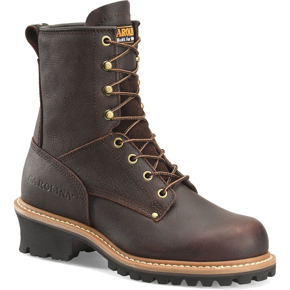 Image for Carolina Women's Work Logger - Dark Brown from elliottsboots