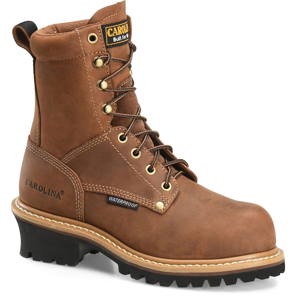 Image for Carolina Women's Elm WP Work Loggers - Brown from bootbay
