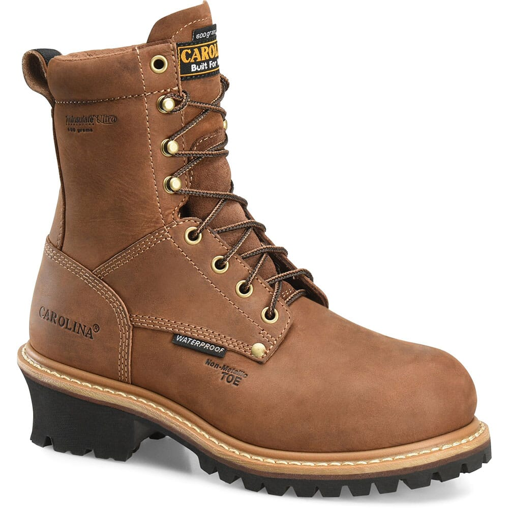 Image for Carolina Women's Elm Insulated Work Loggers - Brown from bootbay