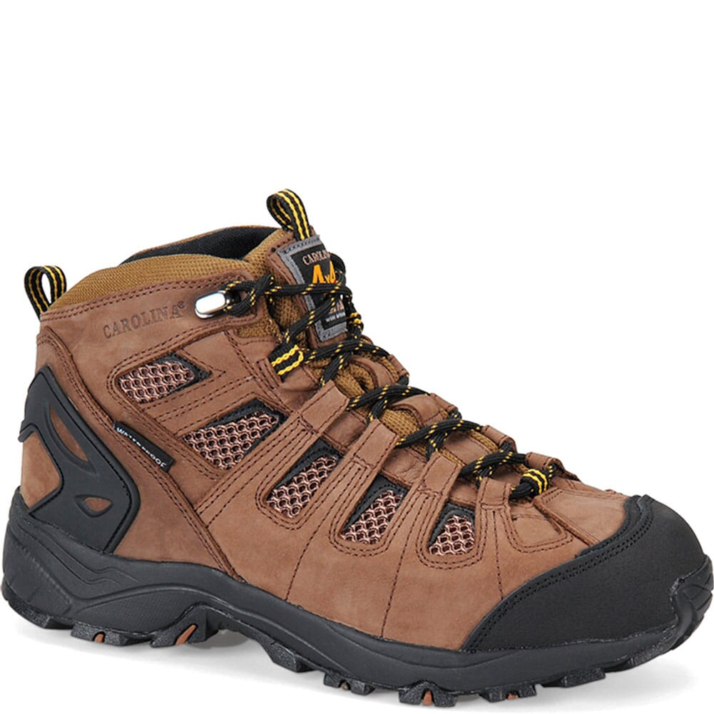 Image for Carolina Men's Carbon Safety Boots - Brown from bootbay