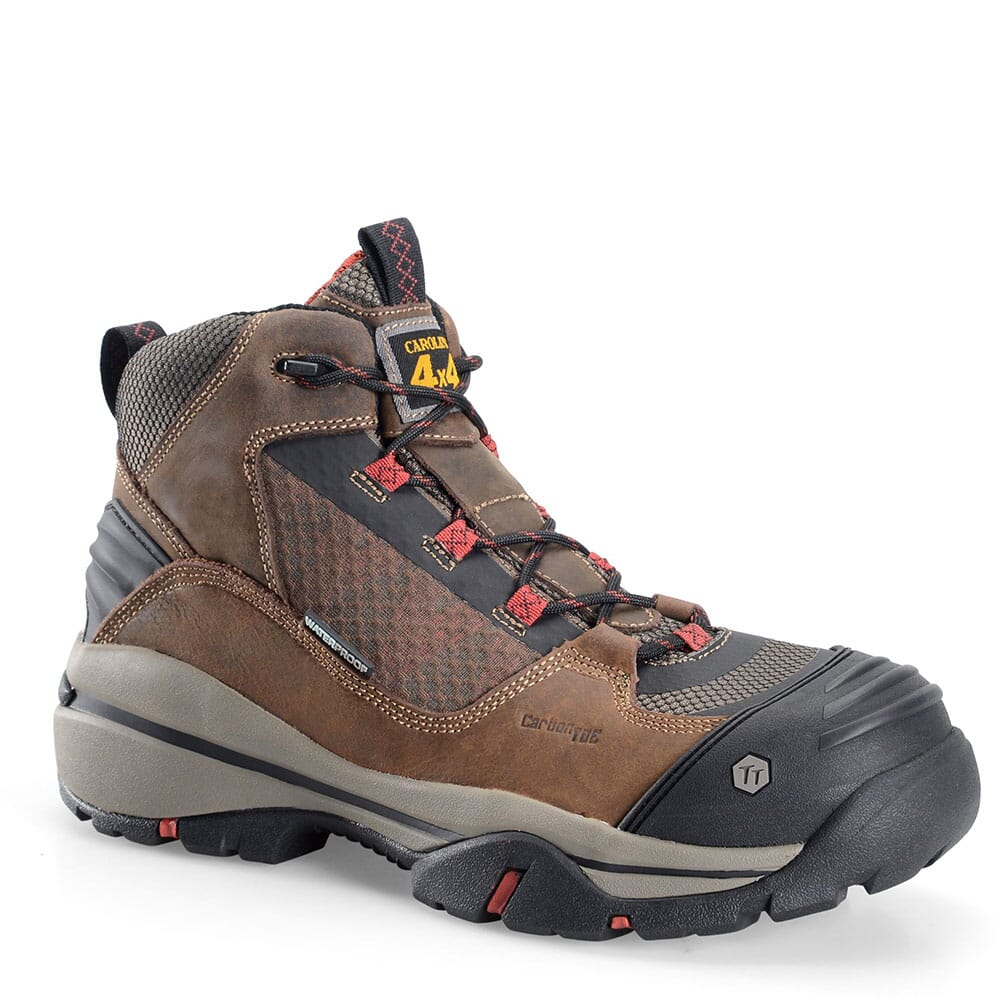 Image for Carolina Men's EXT Carbon Safety Boots - Crazy Horse Olive from bootbay