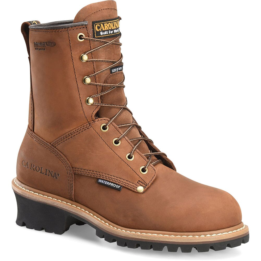 Image for Carolina Men's Work Loggers - Brown from bootbay