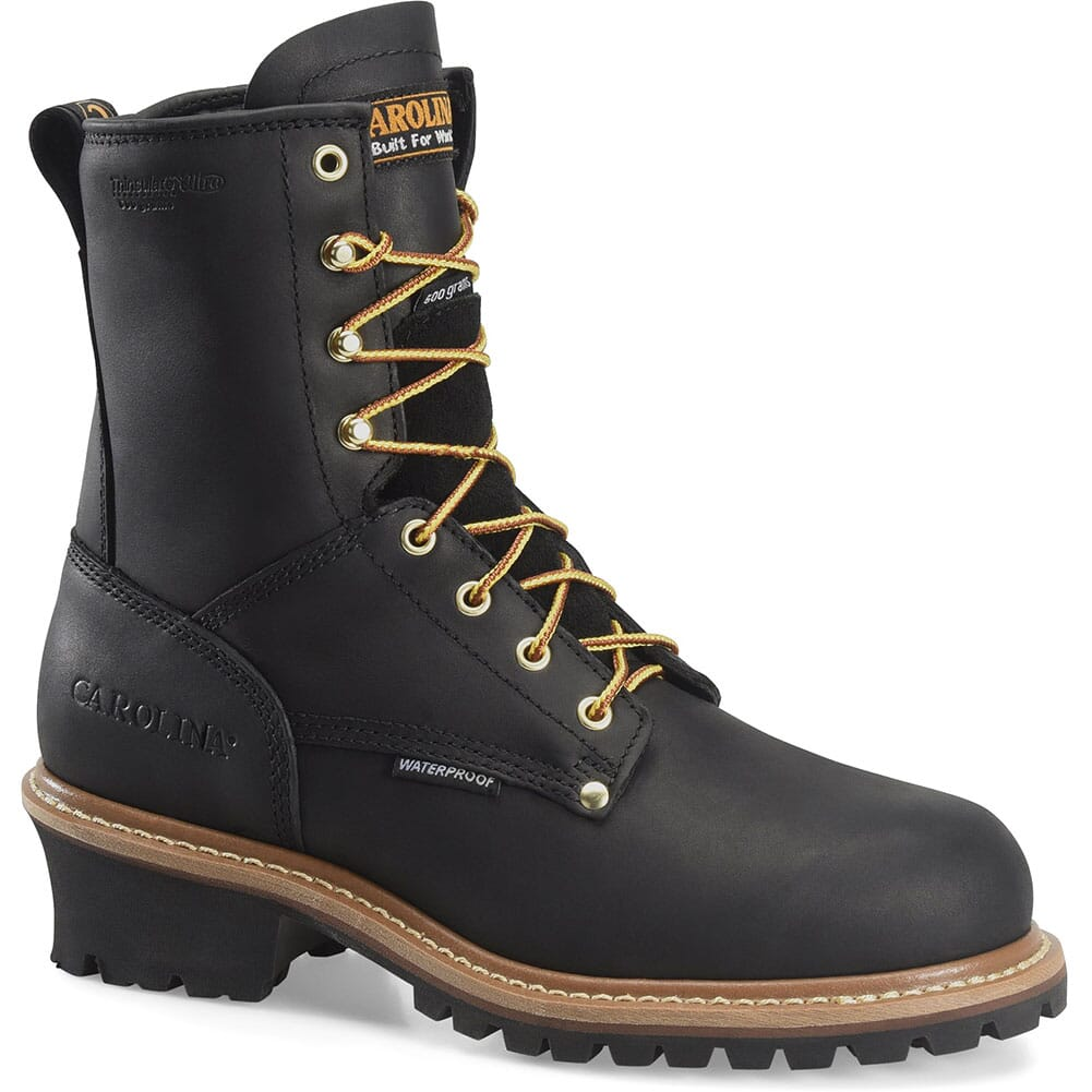 Image for Carolina Men's INS Work Loggers - Black from bootbay