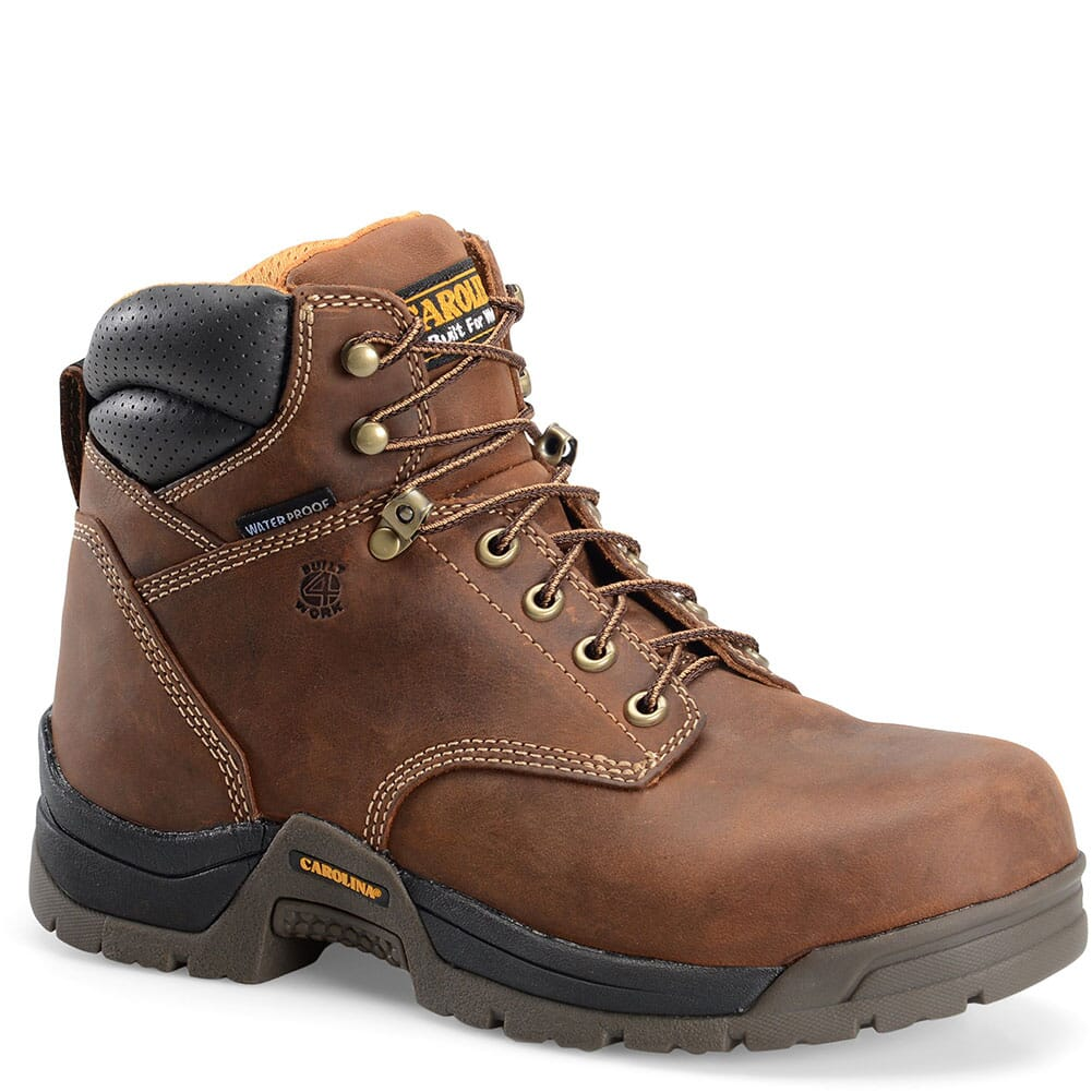 Image for Carolina Men's Bruno Lo WP Work Boots - Copper from bootbay