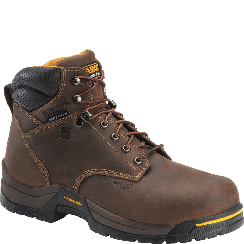 Image for Carolina Men's INS Waterproof Work Boots - Gaucho from bootbay