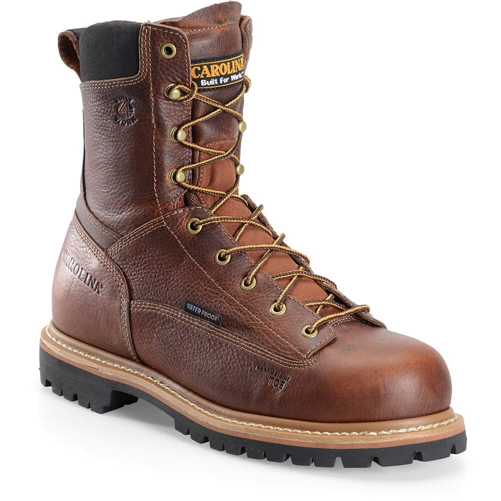 Image for Carolina Men's Grind Work Boots - Brown from bootbay