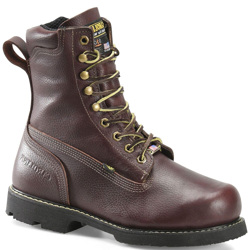 Image for Carolina Men's Winged D3O Internal Met Safety Boots - Brown from bootbay