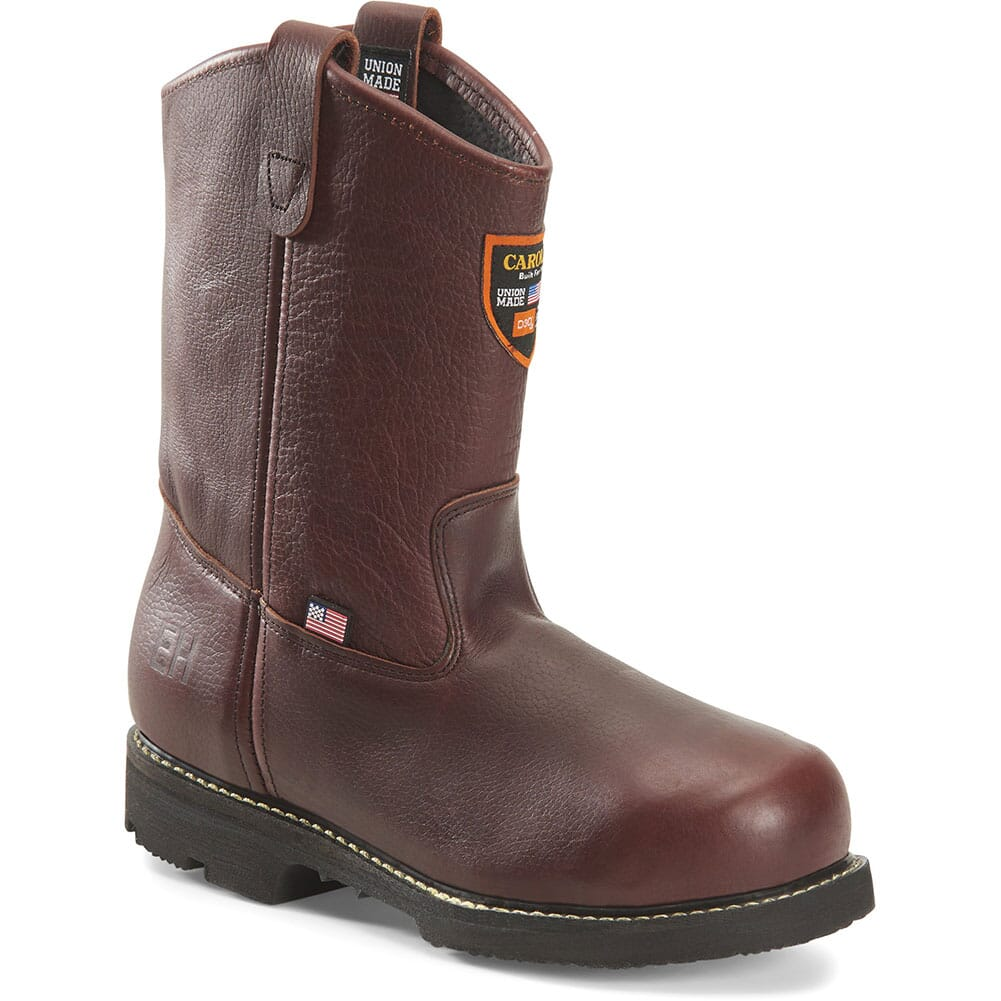 Image for Carolina Men's D3O Internal MetGuard Safety Boots - Brown from bootbay