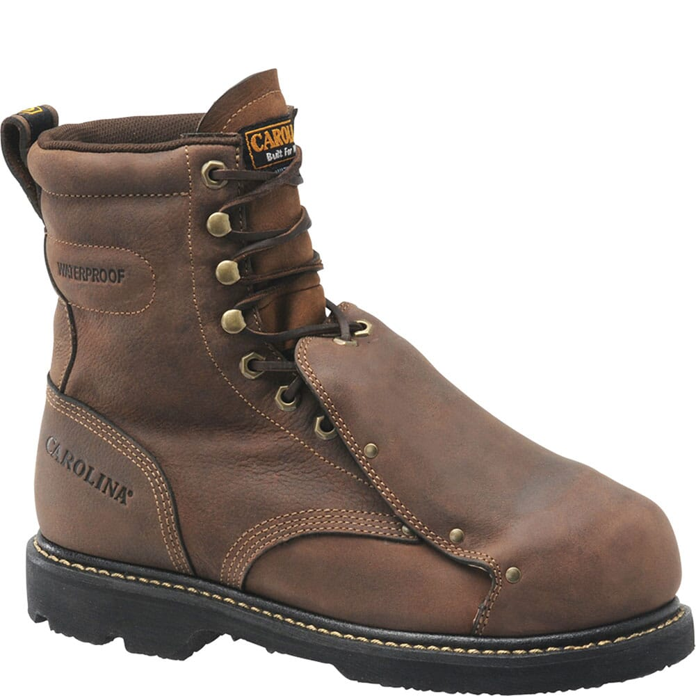 Image for Carolina Men's MetGuard Safety Boots - Brown from bootbay