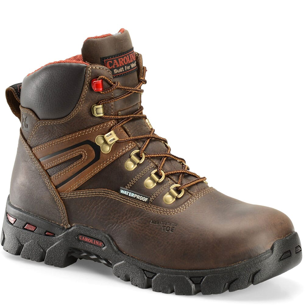 Image for Carolina Men's Coiler Lo Safety Boots - Brown from bootbay