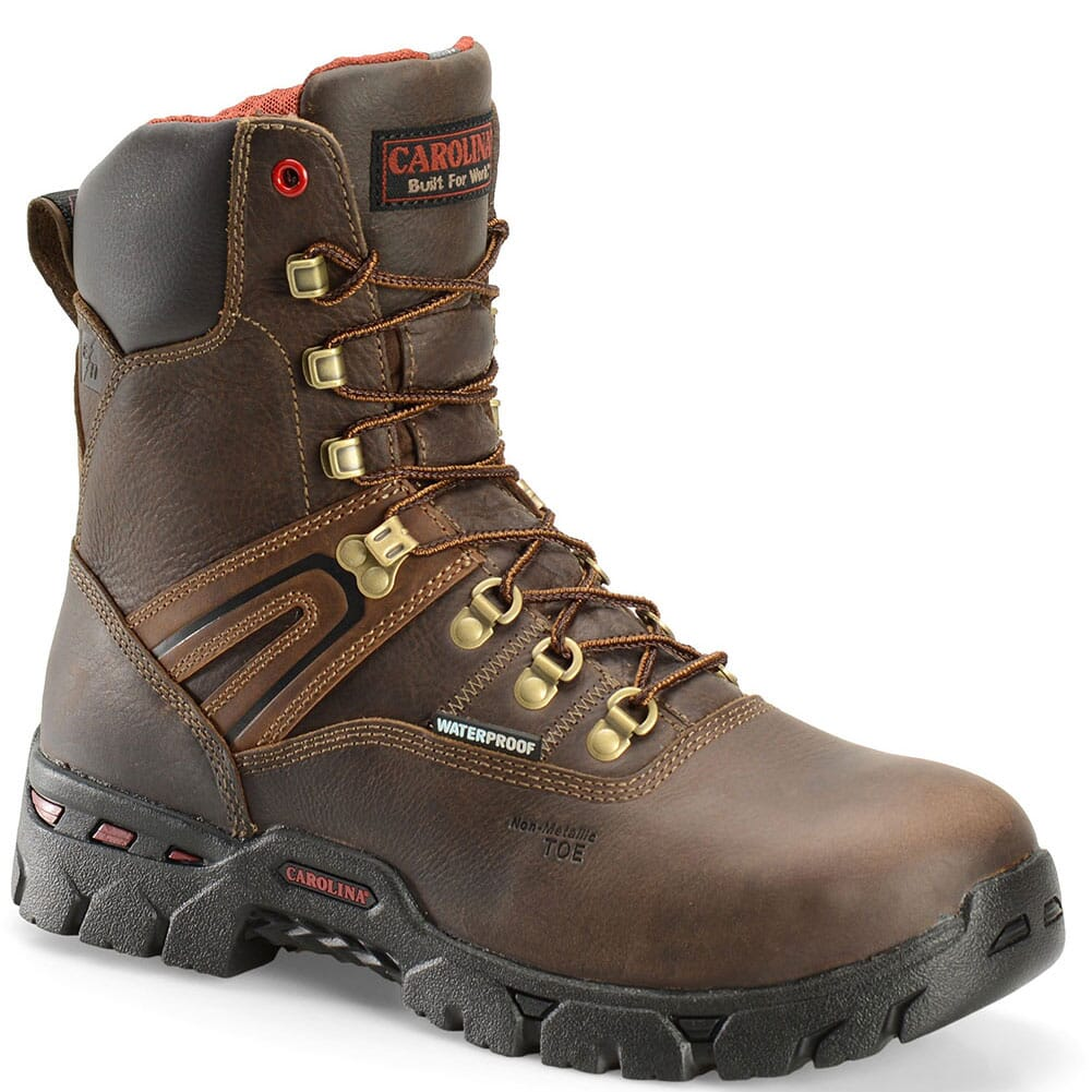 Image for Carolina Men's Coiler Hi Safety Boots - Brown from bootbay