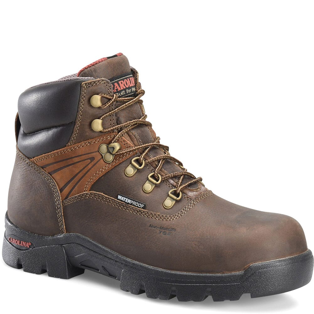 Image for Carolina Men's Hook Safety Boots - Brown from bootbay