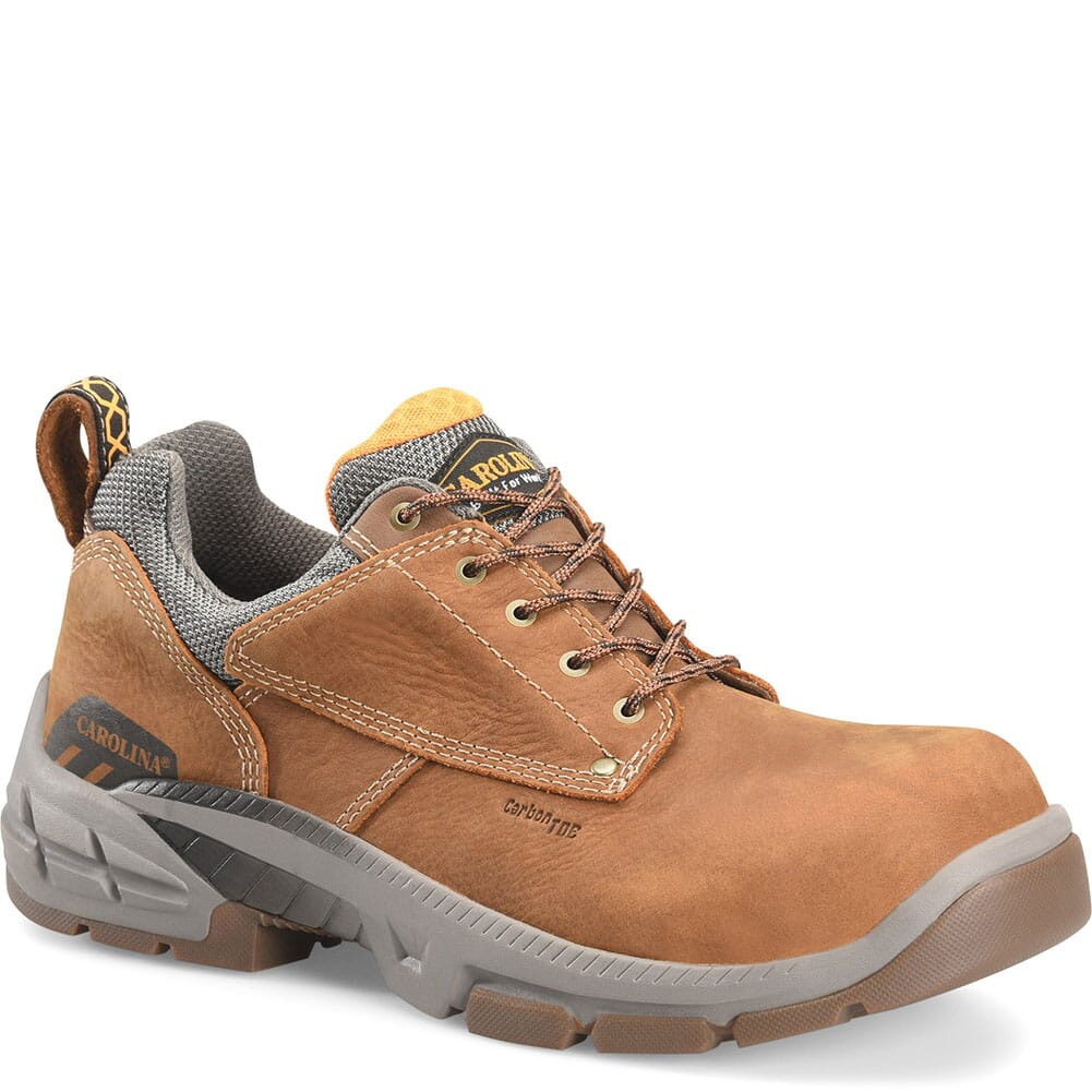 Image for Carolina Men's Duke Comp Toe Safety Shoes - Atlantic Real Brown from bootbay