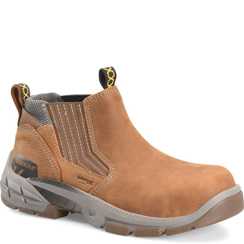 Image for Carolina Men's Duke Slip On Safety Shoes - Atlantic Real Brown from bootbay