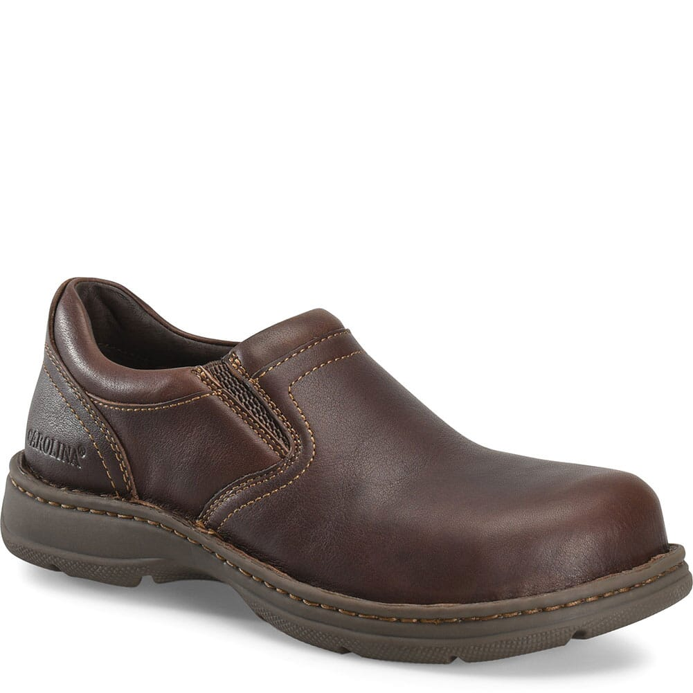 Image for Carolina Men's BLVD 2.0 Safety Slip Ons - Brown from bootbay