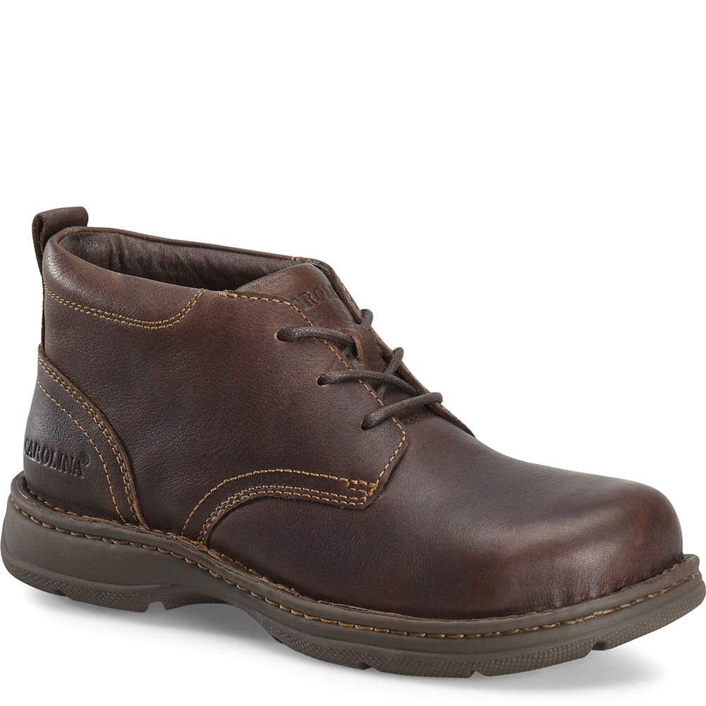 Image for Carolina Men's BLVD 2.0 Safety Chukkas - Brown from bootbay